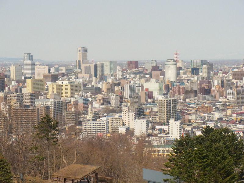 札幌ピクニックスポット!5月上旬の『旭山記念公園』の様子を見てきた