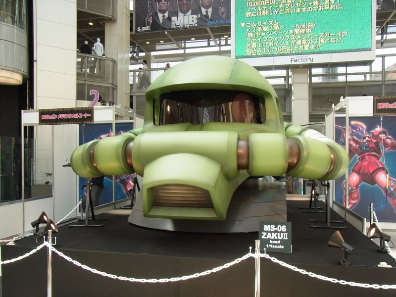 サッポロファクトリー『ガンダムワールド2012in札幌』写真まとめ2@