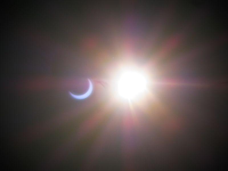 2012年北海道・札幌の部分日食(金環日食)