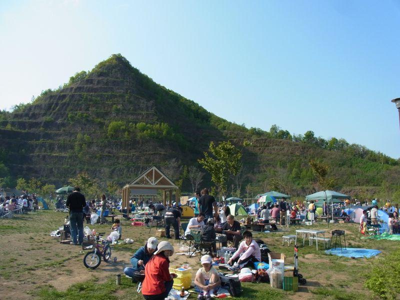 札幌大きい公園シリーズ『五天山公園』は焼肉・ピクニック・運動ができる!