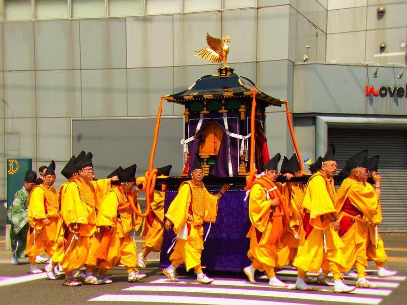 【北海道神宮例祭】お神輿の追っかけしてきた!【さっぽろ祭り】