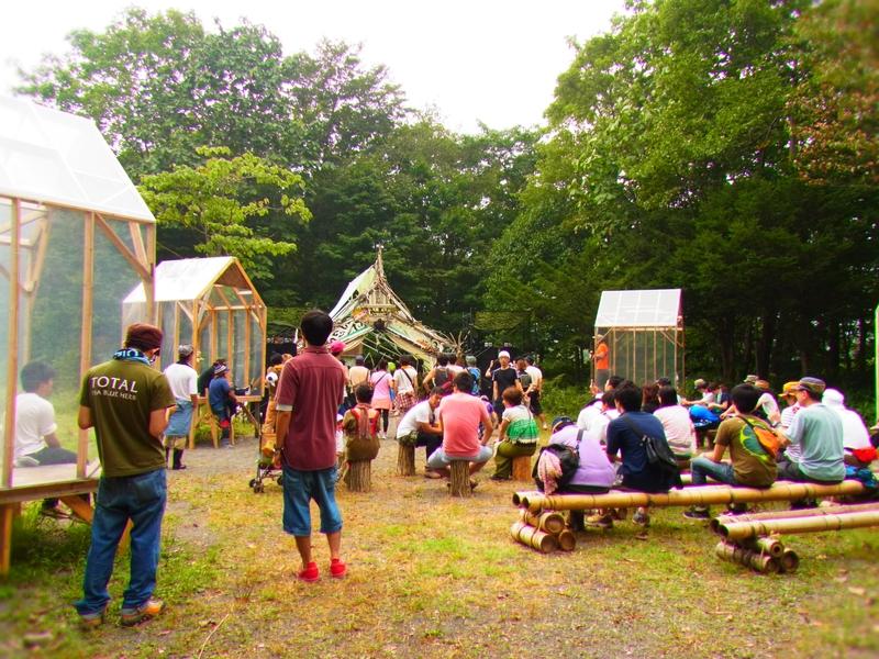 森と牧場のフェス『TOBIU CAMP』に行ってきた!@その2森の中へ編