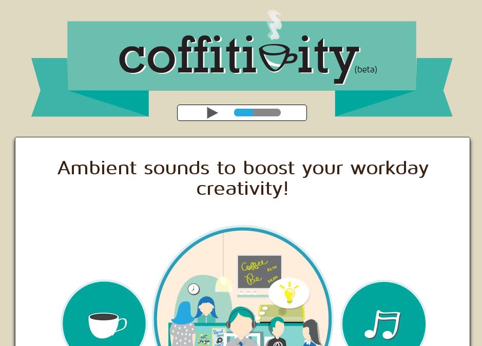 『Coffitivity』カフェ雑音が永遠に流れる有り難いサイト、雑音教の皆さんおまたせ!