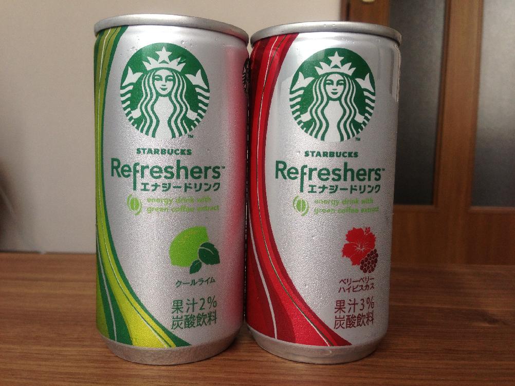 スターバックス発エナジードリンク『リフレッシャーズ』はどんな味?飲んでみた、一癖あって効きそう!