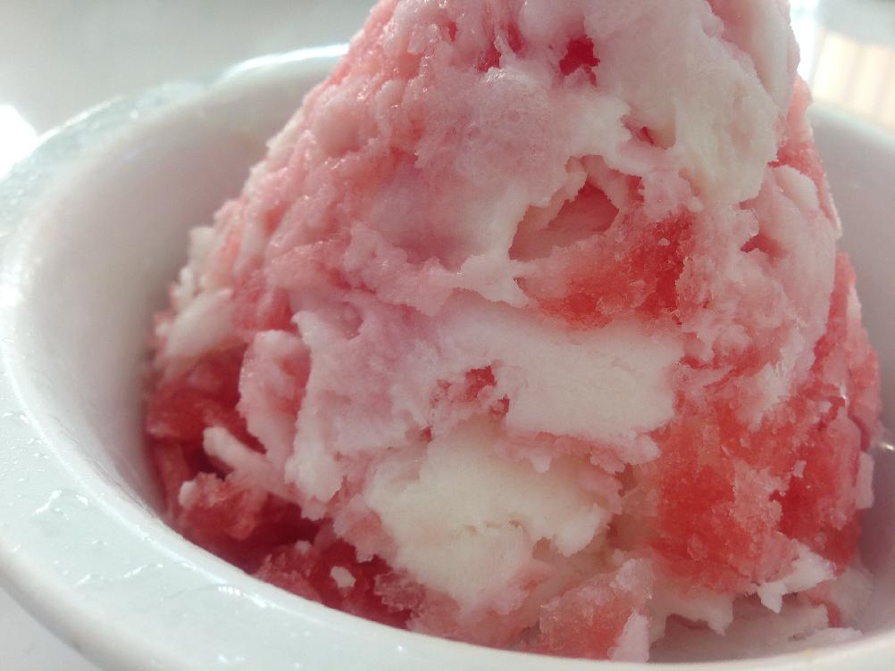 『六花亭』氷で作らないカキ氷をご紹介!それは期間限定の超絶美味なカキ氷だった。