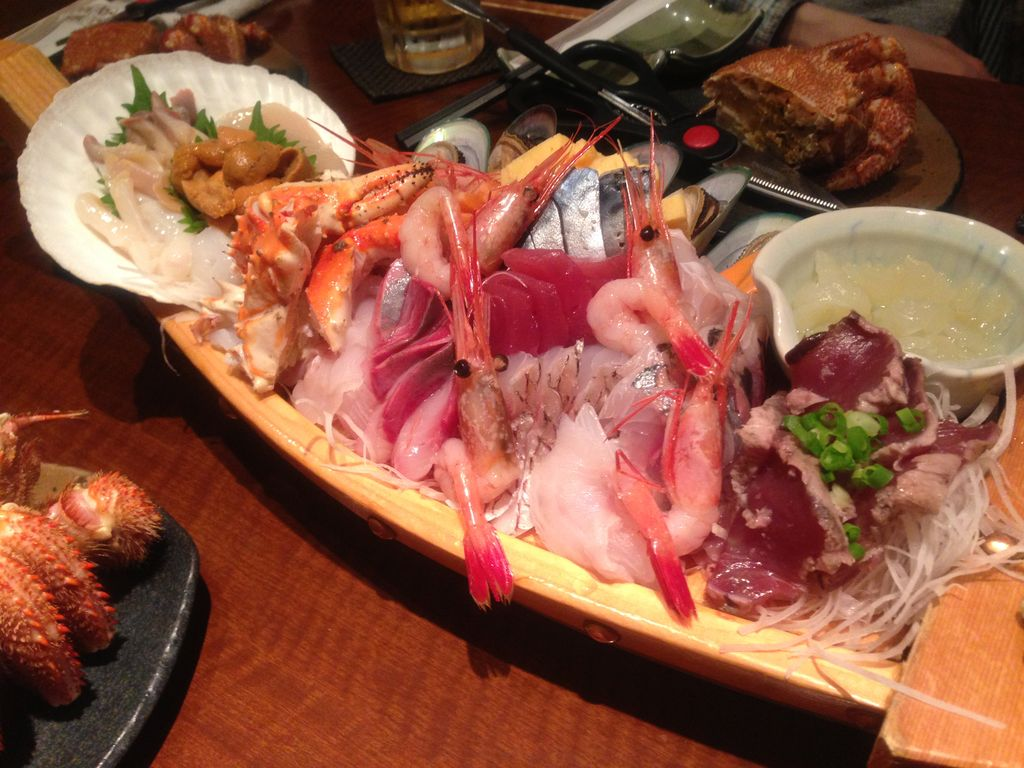 北海道で海鮮に溺れる!『舟盛屋』旅行者にススメたいぎょぎょぎょな居酒屋