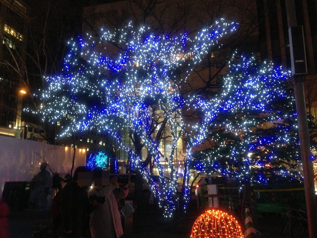 札幌大通のホワイトイルミネーション2013!期間と時間を抑えてイベントも見に行く方法!