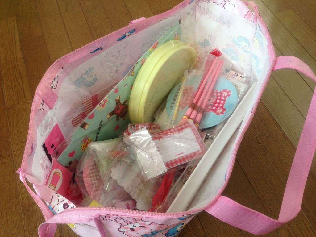 女の子に人気の雑貨屋さん『SWIMMER福袋2014』を2つ買ってみたので中身ぜ~んぶ自慢!