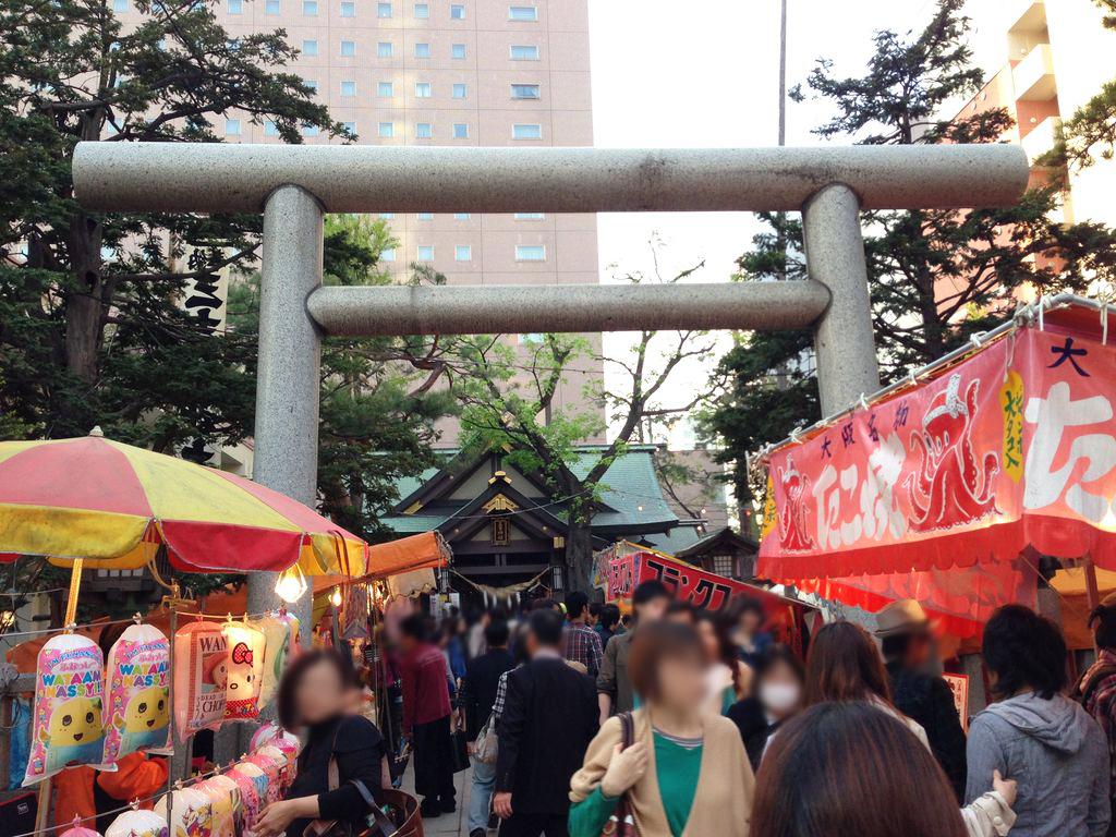 札幌で一番早い夏祭り『三吉神社例大祭』を紹介します!