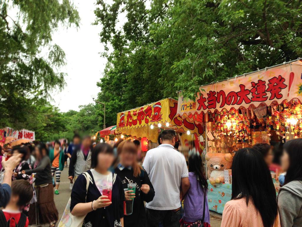 札幌まつり(北海道神宮祭)/中島公園の様子まとめ2014!